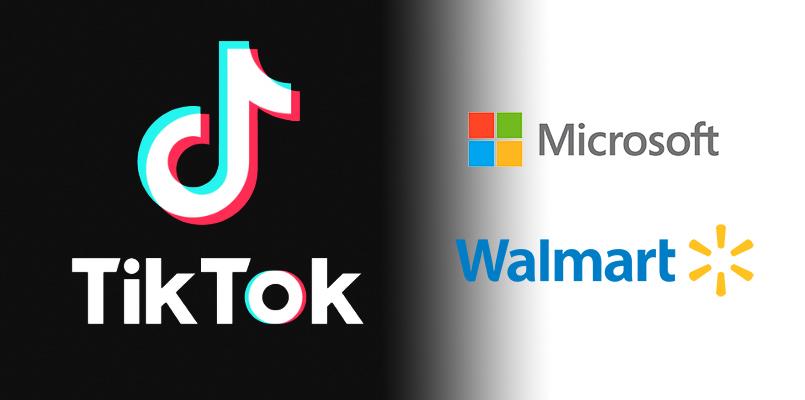 Tiktok Negocia Con Ee Uu Para Evitar Una Venta Y Las Acciones De Walmart Y Microsoft