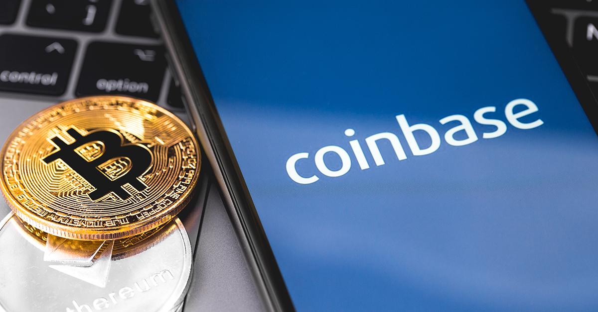 Las acciones de Coinbase abren a 381 USD y su valoración roza los 100.000  millones