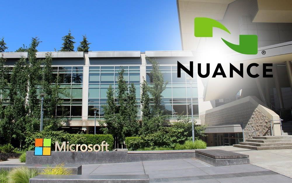 Microsoft compró la empresa de inteligencia artificial Nuance por 16.000 millones de dólares